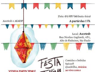 Festa Junina da ASCETESB e AEAESP