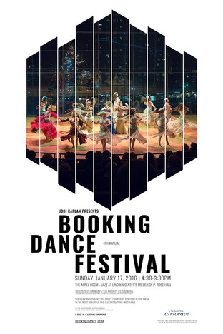 Jazz at Lincoln Center!  Happy New Year! Hope to see you to celebrate 2016 in person at the Booking Dance Festival NYC on Sunday, January 17th at Jazz at Lincoln Center - from 4:30pm-9:30pm following by a VIP After-Party from 9:30pm-11:30pm. Let's dance it!  Hanna Q Dance Company will be performing at 6:15pm!  