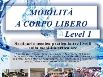SEMINARIO: Mobilità a corpo libero