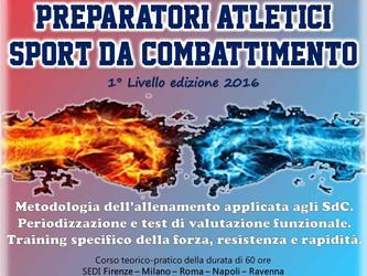 Corso di Formazione per Aspiranti Preparatori Atletici negli SdC