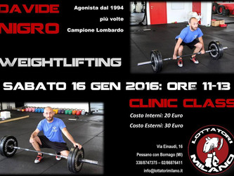 Allenamento di Weightlifting