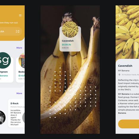 Banana Ordering UI