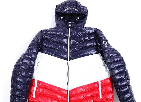 HMF Shine Jacket (Red, White, Blue)