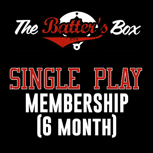 Single Play Membership (6month)