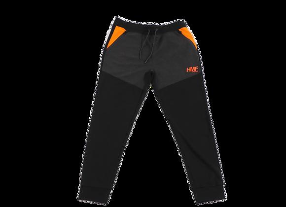 HMF Sweatpants (Black & Orange)