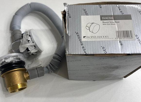 Roper Rhodes Round Smart Flow Bath Filler + Click Clack Waste
