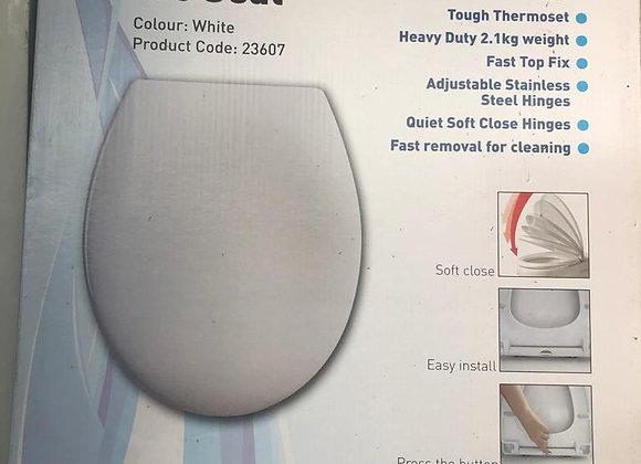 Linn Universal Soft Close WC Seat White