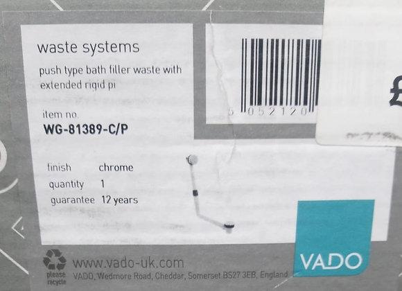 Vado Push Type Bath Filller Waste