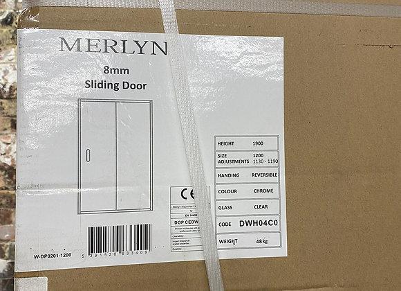 Merlyn Ionic Essence 8mm 1200 framed sliding door
