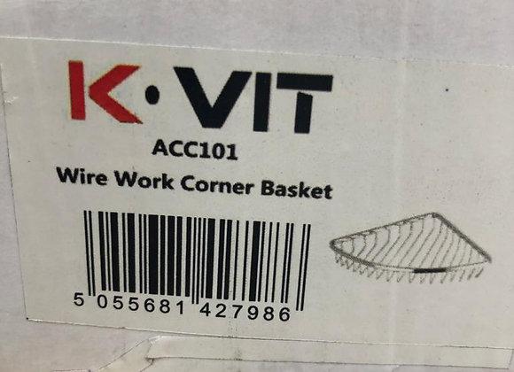 KVIT Wire Work Corner Basket