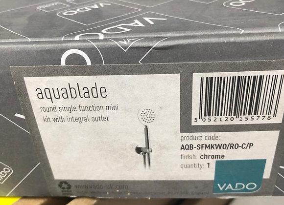 Vado Aquablade Round Single Function Kit Chrome