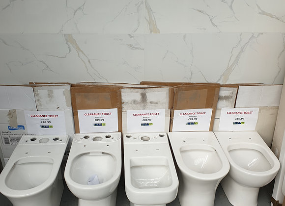 Selection of WC Toilet Pans