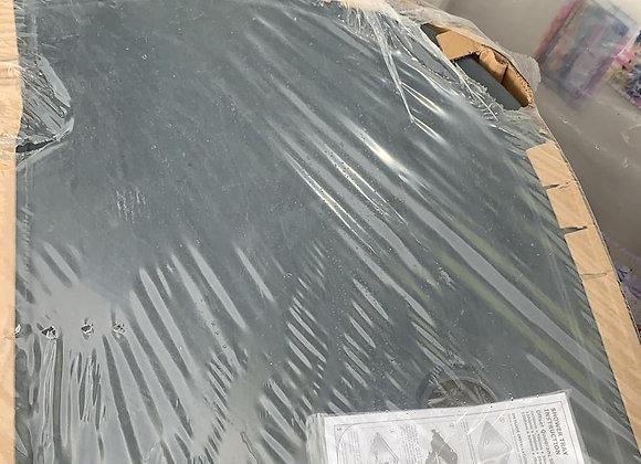 Quadrant Shower Tray Black 800x1000