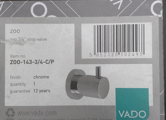 Vado Zoo wall mounted stop valve