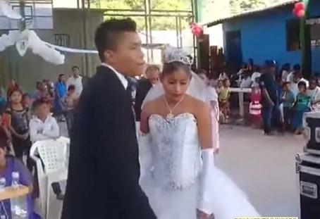 No están felices en su boda, por eso la llaman la 'más triste de México