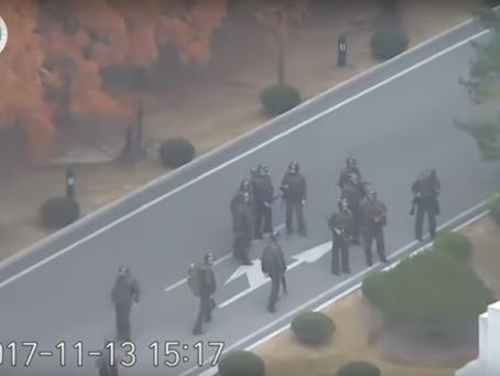 Soldado desertor es atacado con disparos por ejército norcoreano