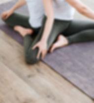 Pares de la yoga, yoga, yoga como un estilo de vida