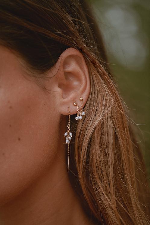 HINATEA⎜Mono boucles d'oreilles