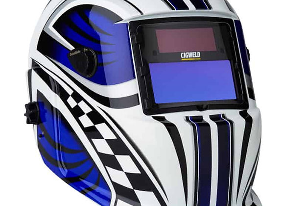 454321 Weldskill Auto-Darkening Welding Helmet Variable Shade 9-13 Racer