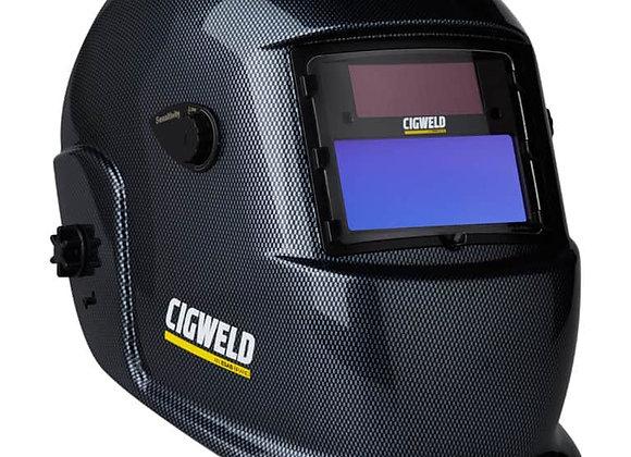 454314 Weldskill Auto-Darkening Welding Helmet Var Shade 9-13 Carbon Fibre Print