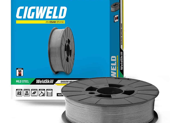 WG0909 - CIGWELD Weldskill Gasless 0.9mm 0.9kg = 1 Minispool