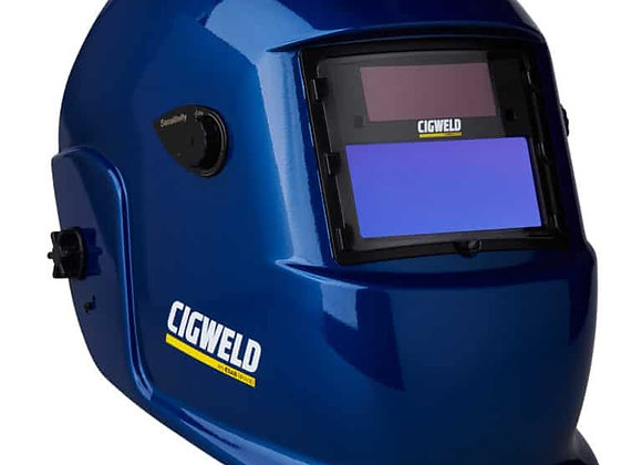 454305 WeldSkill Auto-Darkening Welding Helmet Variable Shade 9-13 Blue