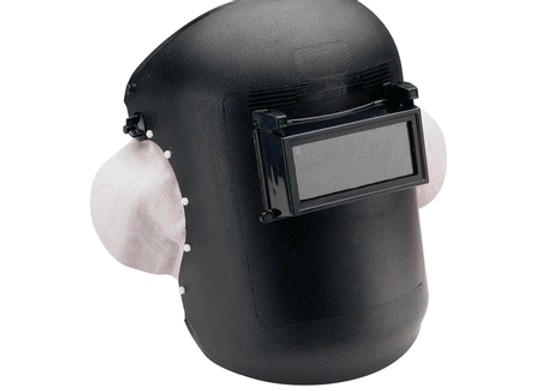454060 Hiderok Ear Muff Lift Front Welding Helmet - 108x51mm