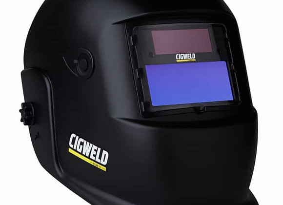 454304 WeldSkill Auto-Darkening Welding Helmet Fixed Shade 11 Black