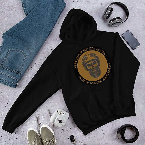 Limited Edition 27 and 6 Biker unisex Hoodie
