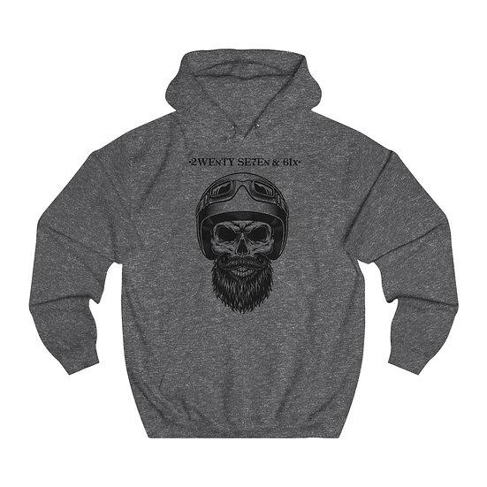 27 & 6 Premium Skull Rider Hoodie
