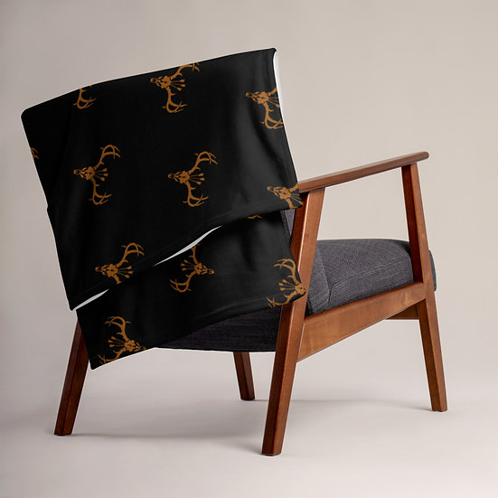 Roadkill Exclusive Stag Throw Blanket