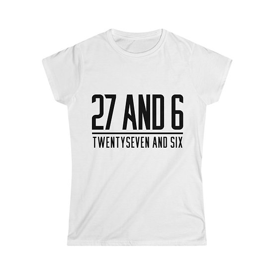 Women's Softstyle 27 and 6 Tee