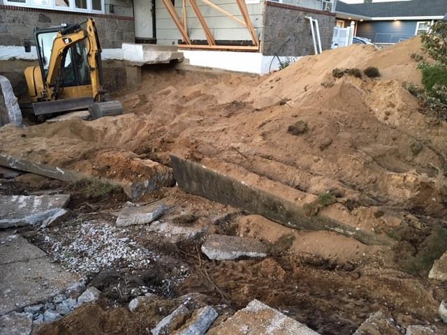 North Bellmore - Excavation-Demo-Concrete Works
