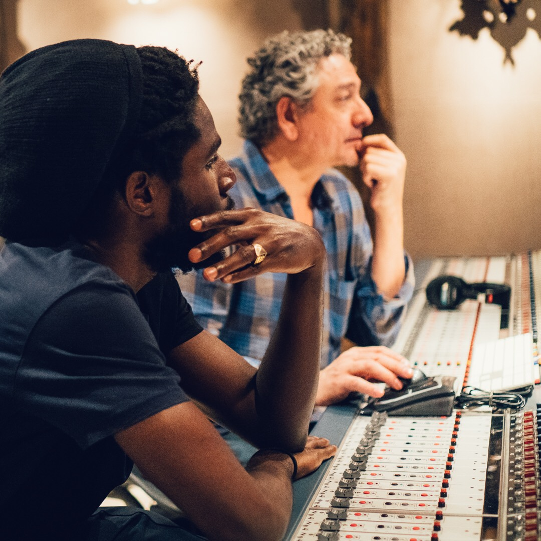 'Mixing With Chronixx in NYC
