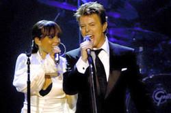 Recording David Bowie & Alicia Keys Live
