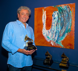 Caruso painting and Grammys 2