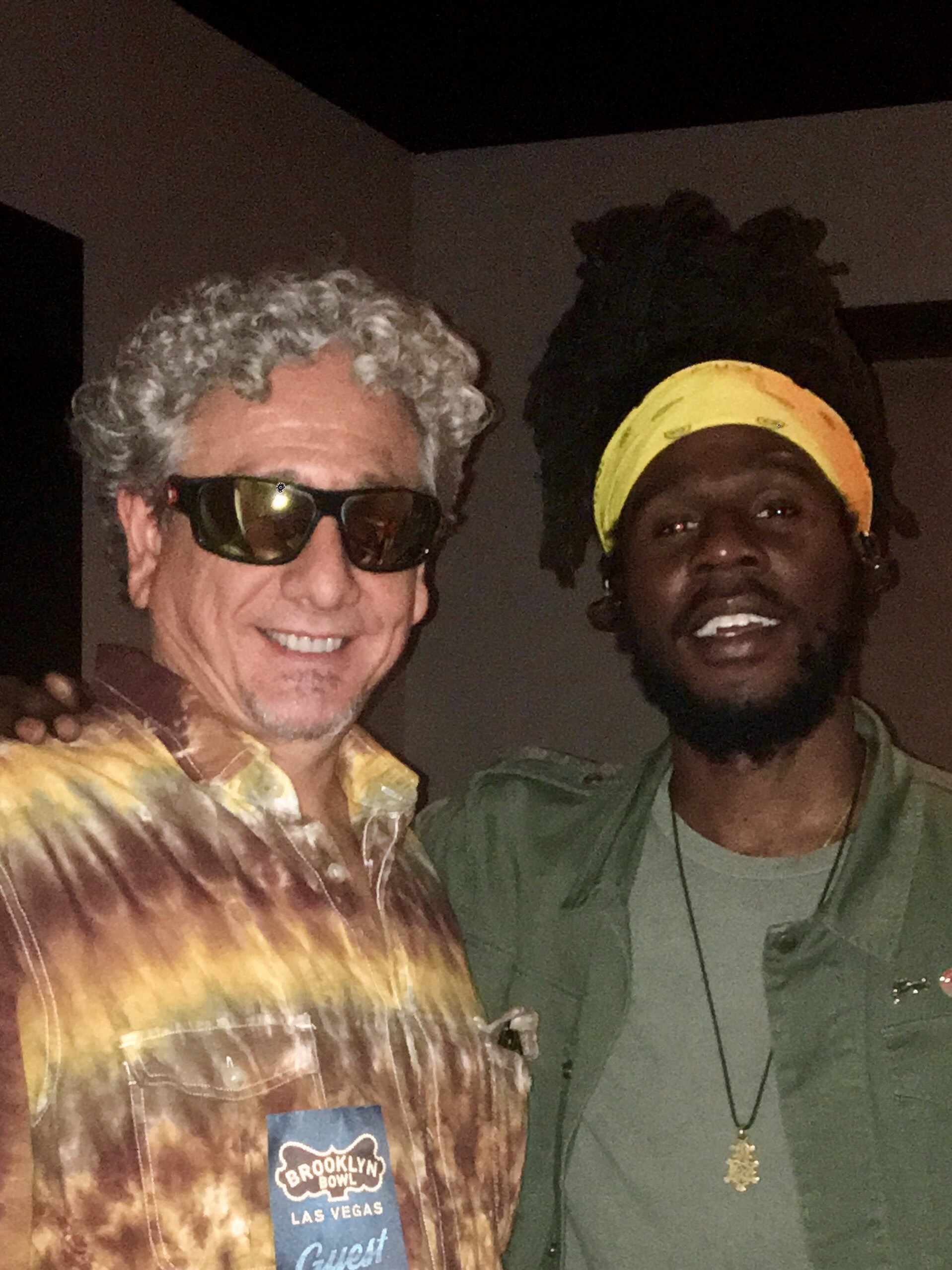 'with Chronixx in Las Vegas 2017