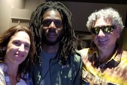 'with Chronixx and my wife Sandy