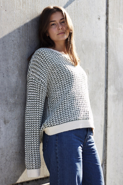 SCROOM KNIT BLOUSE