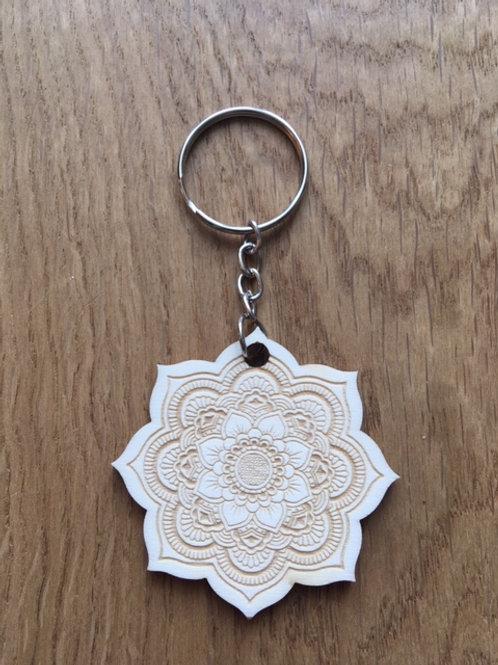 Porte-clés - Mandala - Fleur de Vie