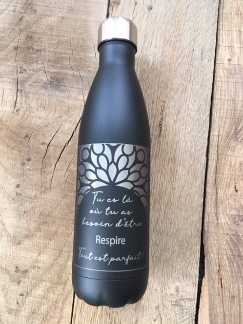 Bouteille isotherme 700ml - Noire
