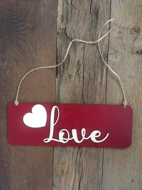 Plaquette murale - Love