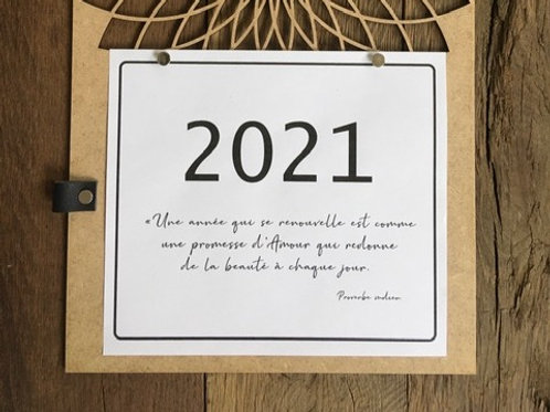 Calendrier 2021 - Recharge