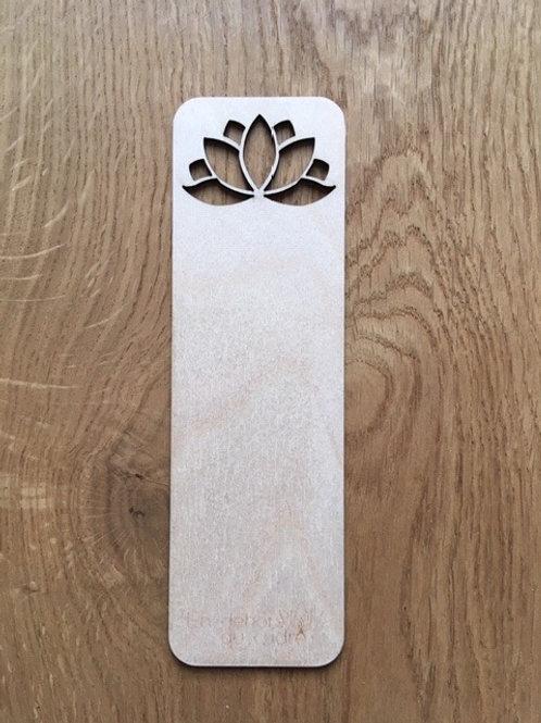 Marque-pages - Fleur de lotus