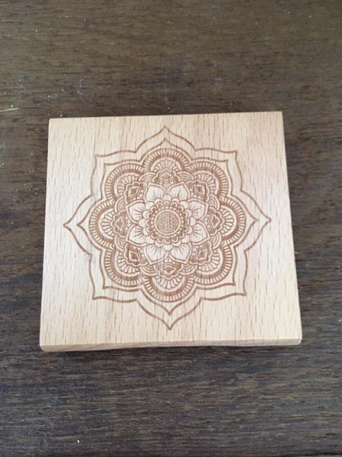 Miroir de poche - Mandala