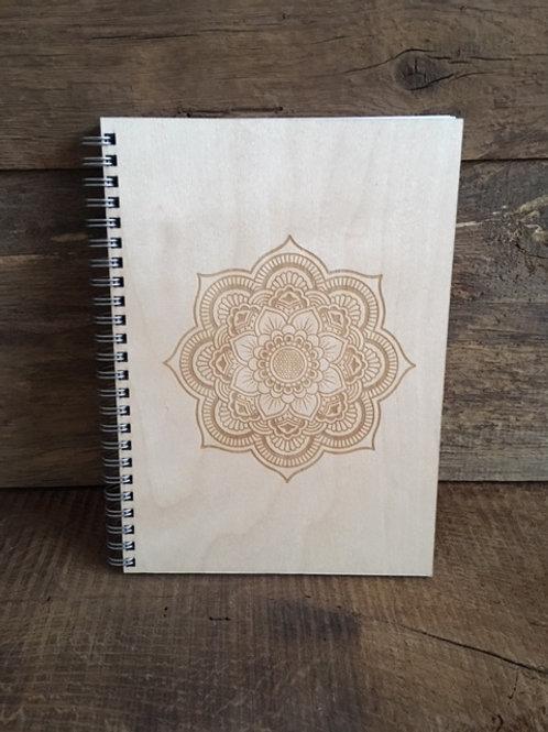 Cahier - Mandala gravé