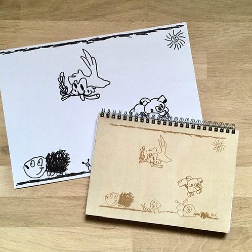 Marque-pages - Avec dessins personnalisés