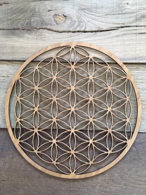 Fleur de Vie - Contreplaqué de Bambou