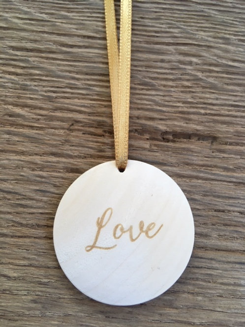 Disque diffuseur huiles essentielles - Love