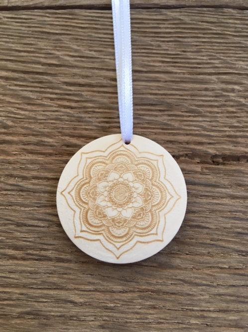 Disque diffuseur huiles essentielles - Mandala